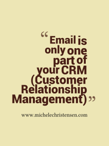 There's more to CRM than email