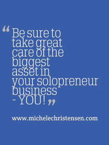 Your biggest solopreneur asset is YOU