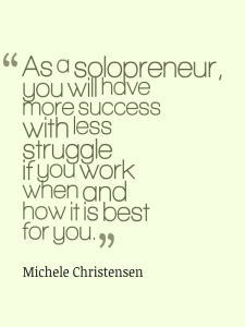 Solopreneurs can help themselves do their best work