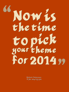 Solopreneur theme for 2014
