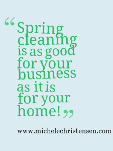 Spring clean your solopreneur business